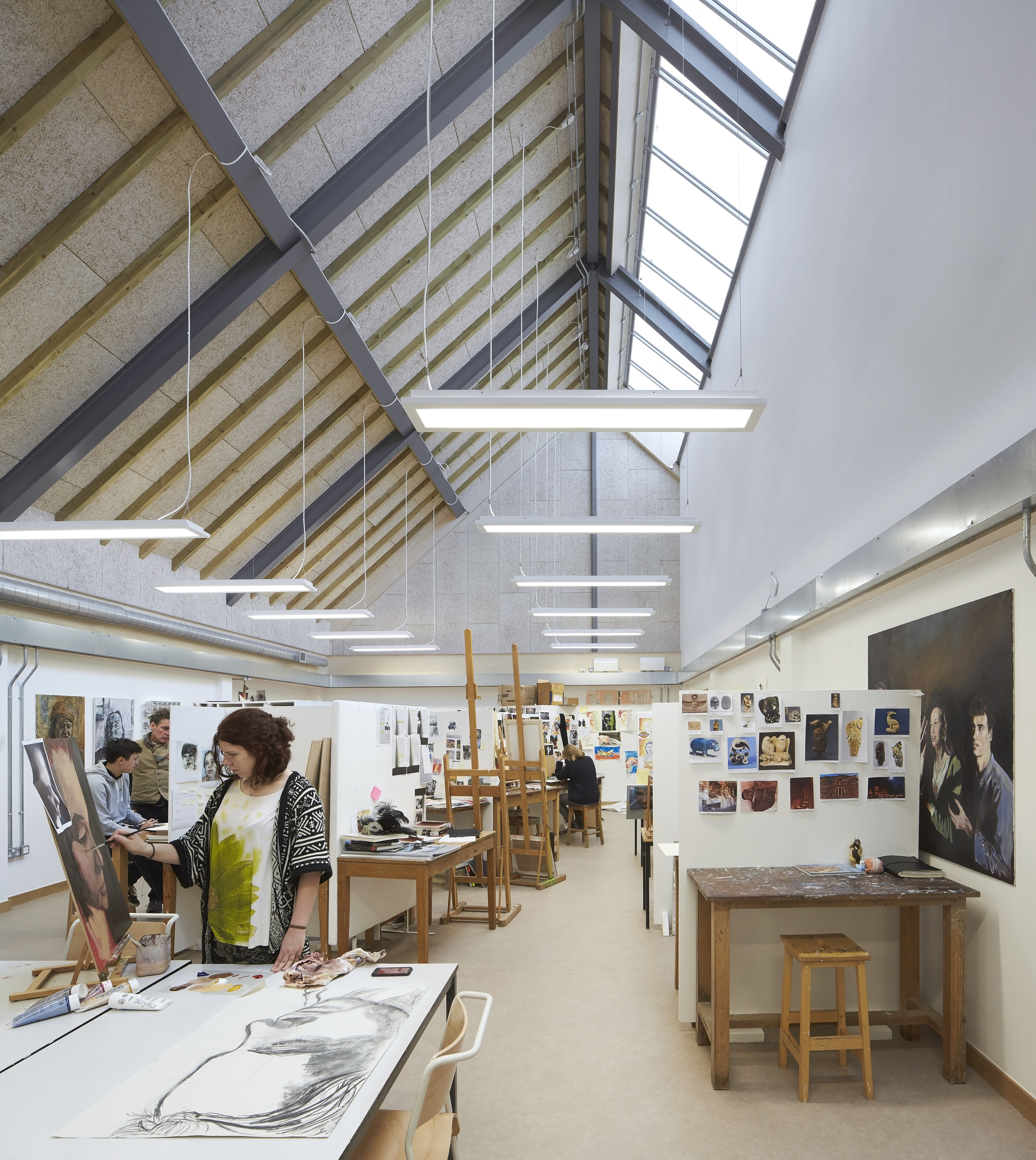 Gallery Of Bedales School Art And Design Feilden Clegg Bradley Studios 5