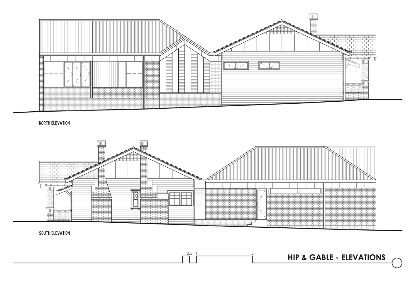 Gallery of Hip & Gable House / Architecture Architecture - 23 on house plans with gables, house roof designs, house siding designs, house gate designs, house patio designs, house canopy designs, house window designs, house shed designs, house overhang designs, house facade designs, house peak designs, house stoop designs, house maps designs, house truss designs, house skylight designs, house dormer designs, house wall designs, house mezzanine designs, house siding with stone front porch, house chimney designs,