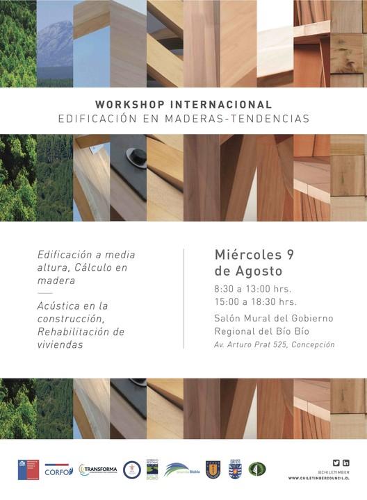 Workshop Internacional Edificación en Maderas / Concepción, Chile