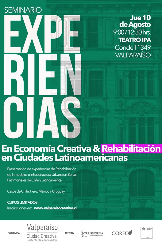 Experiencias en economía creativa y rehabilitación en ciudades latinoamericanas