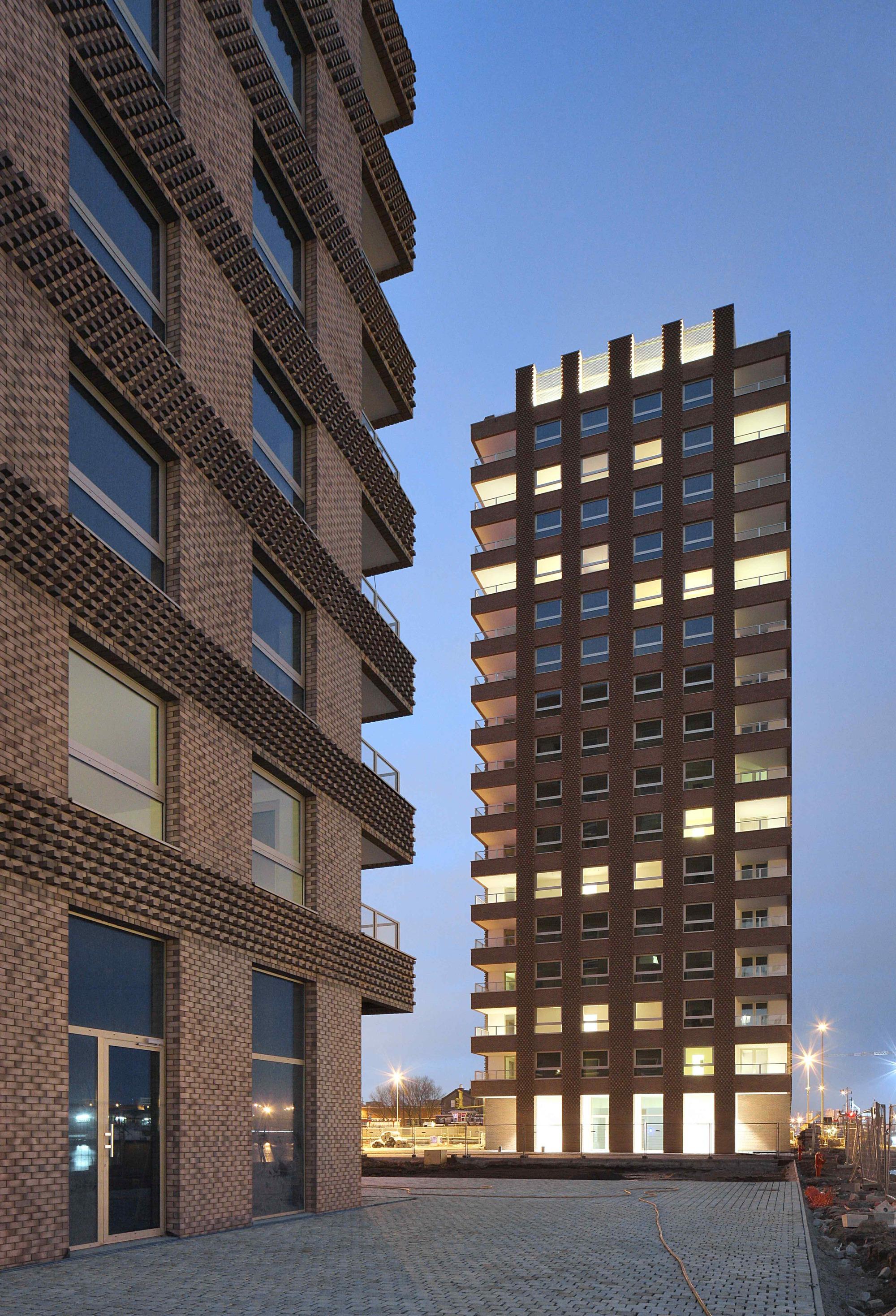 westkaai towers 5  u0026 6    tony fretton architects