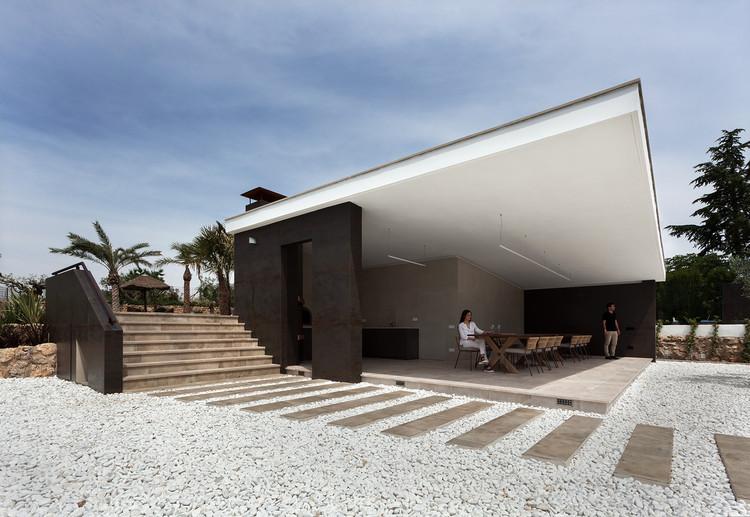 Tectum. Summer Pavilion / Raúl García Studio + Javier García Sánchez Arquitecto, © Diego Opazo