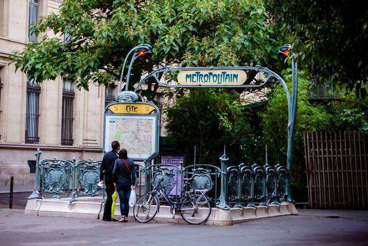 Hector guimard office archdaily a typical station entrance in the paris mtro imagevia a hrefhttps aloadofball Image collections
