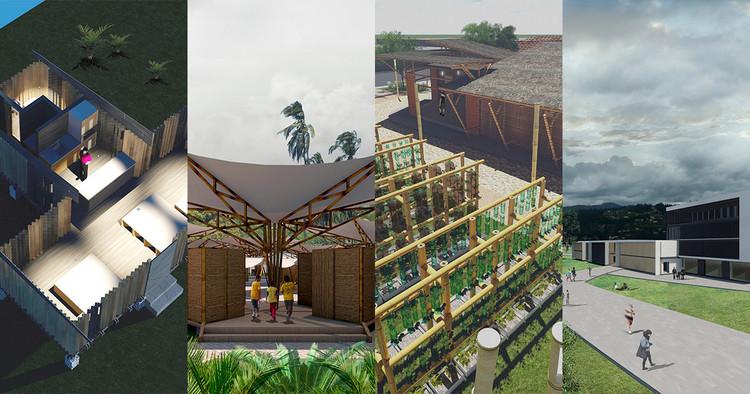 Estas son las propuestas ganadoras de la muestra académica de 'Rumbo al TSL Canoa', Ganadores de la muestra académica Rumbo al TSL Canoa. Image Cortesía de TSL Canoa
