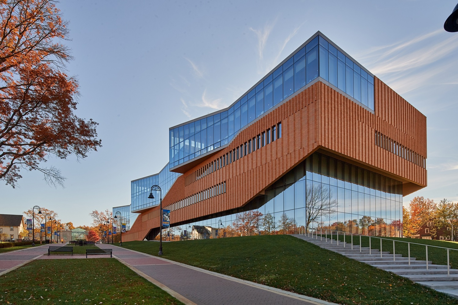 Exceptional 2017 Brick In Architecture Award Winners Announced,Educational (Higher  Education): Kent State