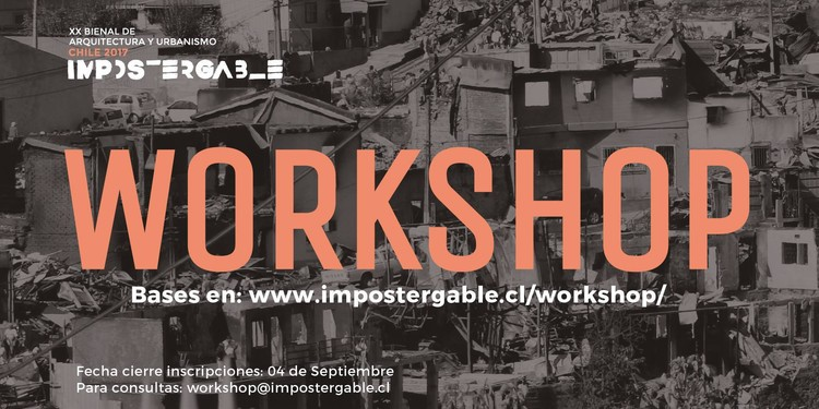 Workshop Bienal do Chile 2017: Chamada internacional para estudantes