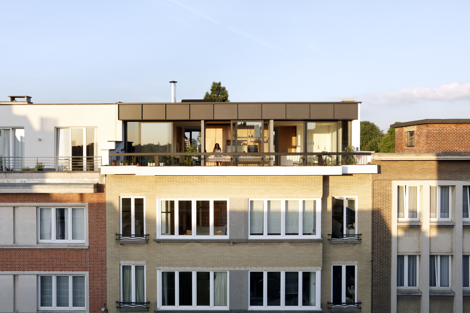 Lincoln Roof Extension,© Maxime Delvaux