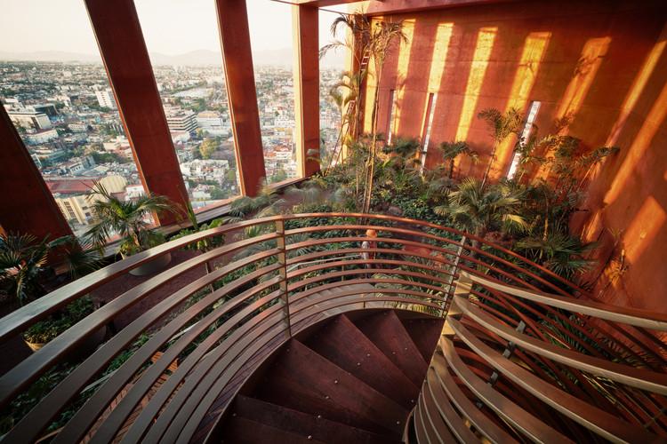 Alberto Kalach: '¡Imagina que todos los techos de nuestra ciudad fueran verdes!', Reforma 27. Imagen © Yoshihiro Koitani
