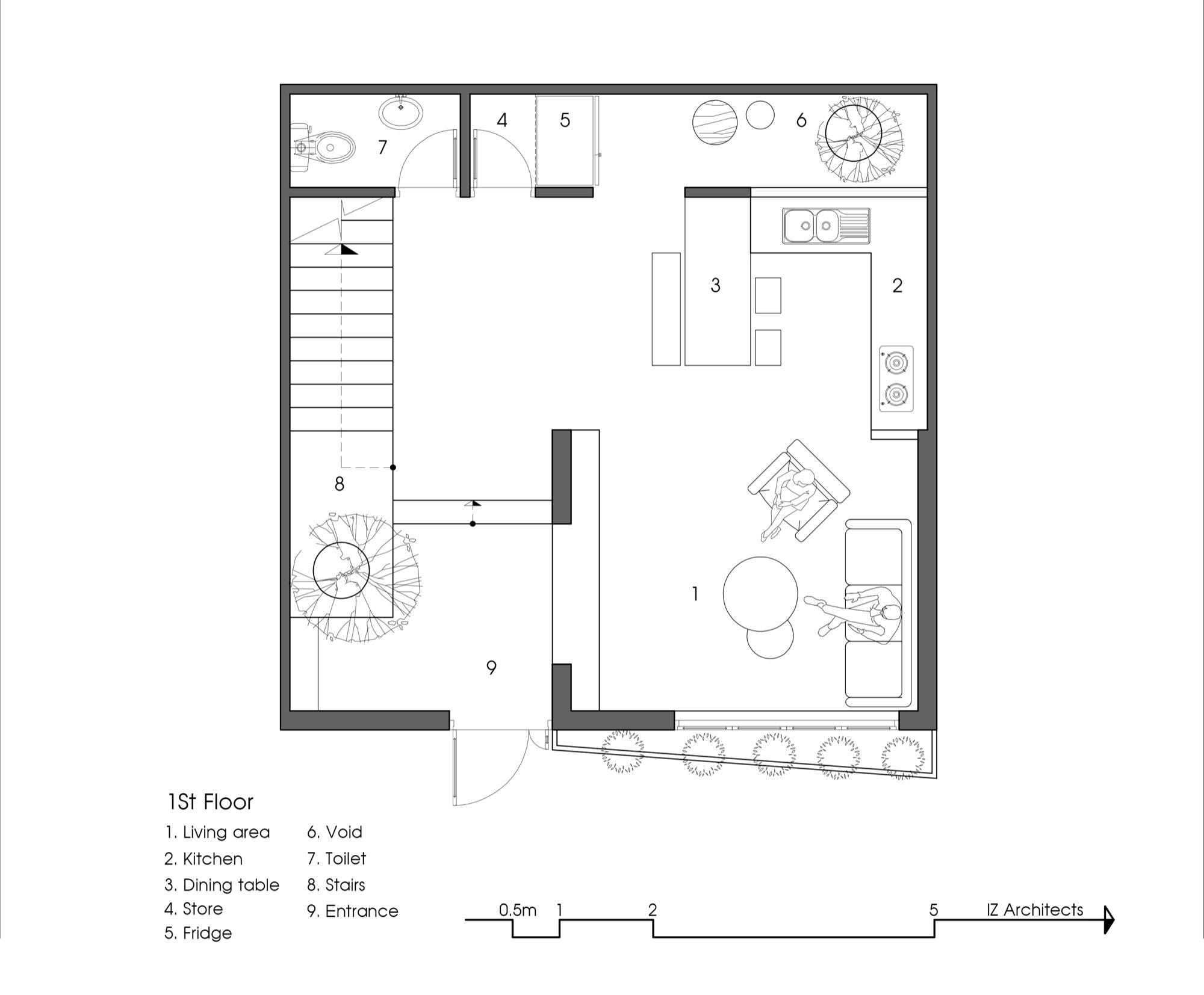 Gallery Of 7x7 House Iz Architects 26