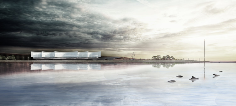 International Antarctic Center Design Winner Announced, Cortesía de Equipo Primer Lugar
