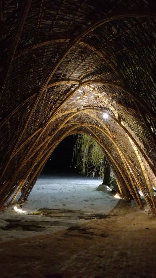 Volta Arquitectos utiliza vime e bambu como elementos estruturais para intervenção em Girona, Cortesía de Volta Arquitectos