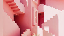 Ricardo Bofill's Red Wall Through The Lens of Gregori Civera