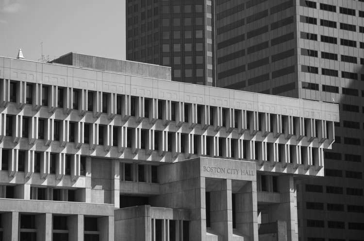 New Map Celebrates Boston's Brutalist Architecture, Courtesy of Chris Grimley, Michael Kubo, and Mark Pasnik