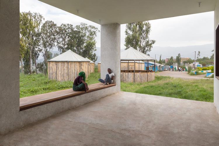 توضیحات معماری بیمارستان شهر ولدیا واقع در شمال شرقی اتیوپی