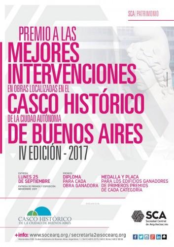 Premio a las mejores intervenciones de obras localizadas en el Casco Histórico de Buenos Aires, Cortesía de Sociedad Central de Arquitectos