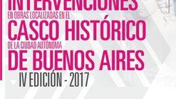 Premio a las mejores intervenciones de obras localizadas en el Casco Histórico de Buenos Aires