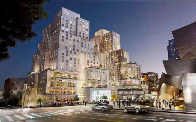 Long-Awaited Grand Avenue Project by Gehry Partners to Begin Construction, via Los Angeles County Board of Supervisors
