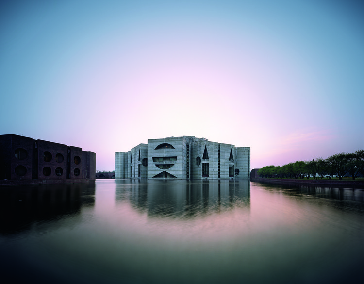 Louis Kahn: The Power of Architecture, National Assembly Building in Dhaka, Bangladesh, Louis Kahn, 1962-83 © Raymond Meier
