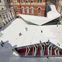 Frieze Art & Architecture Conference The Sackler Courtyard, V&A Exhibition Road Quarter, designed by AL_A ©Hufton+Crow