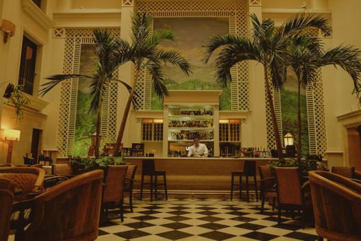 Hotel Saratoga in Havana, Cuba. Image <a href='https://www.reddit.com/r/AccidentalWesAnderson/comments/6juk8c/hotel_saratoga_havana_cuba/'>via Reddit user saulbloodyenderby</a>