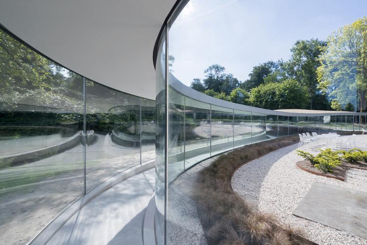 Glass Visitor Center Park Vijversburg / junya ishigami + associates + Studio MAKS, © Iwan Baan