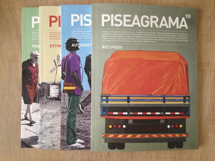 Conheça a PISEAGRAMA, uma revista brasileira sobre espaços públicos, © PISEAGRAMA