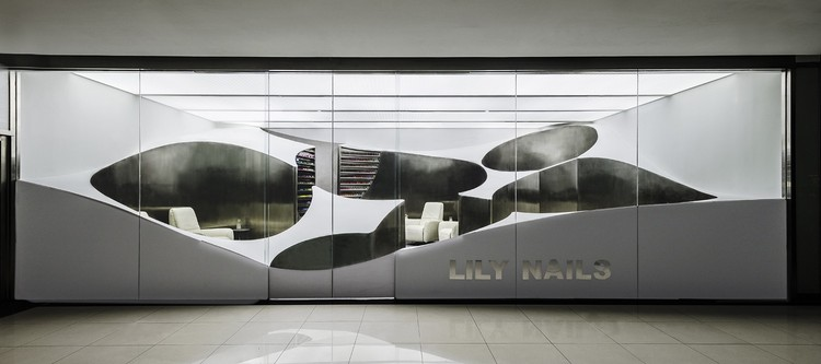 Lily Nails Salon / ARCHSTUDIO, © Weiqi Jin