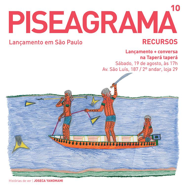Lançamento da revista PISEAGRAMA 10 em São Paulo