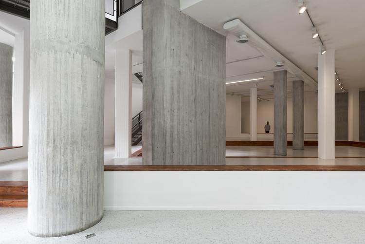 """""""El espacio del lugar. El lugar del espacio"""" invita a reflexionar en torno a la construcción simbólica de los espacios expositivos , Cortesía de NC-arte"""