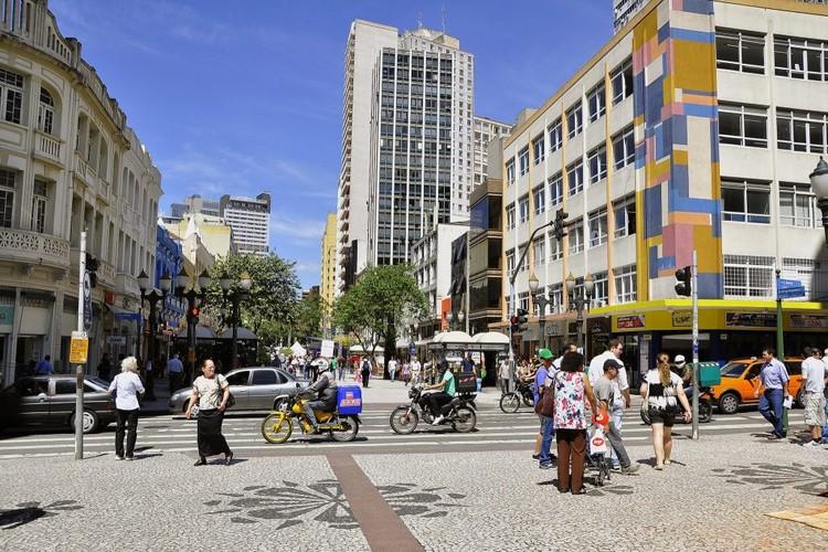 A maioria das cidades brasileiras apresentam boas condições de mobilidade, Curitiba aparece em terceiro lugar no ranking das capitais. Foto: Mariana Gil/WRI Brasil Cidades Sustentáveis