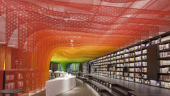 Metal Rainbow-Zhongshu Bookstore in Suzhou / Wutopia Lab
