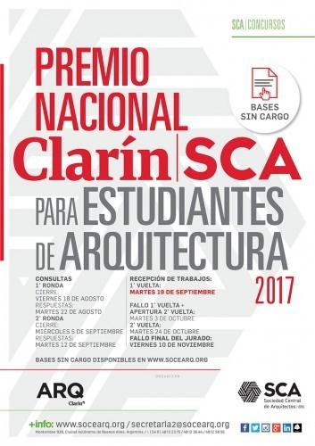 Premio Nacional Clarin-SCA para estudiantes de arquitectura / Argentina, Cortesía de Sociedad Central de Arquitectos