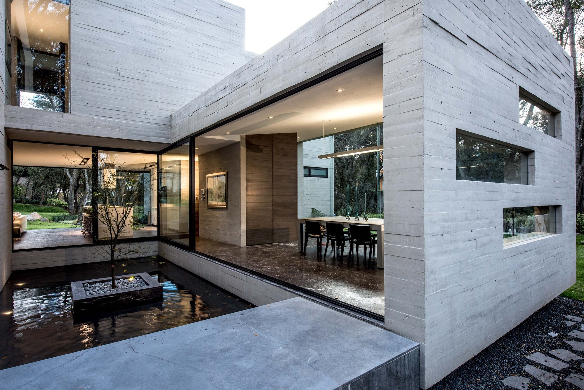 Casa concreto grupo mm archdaily for Designer casa