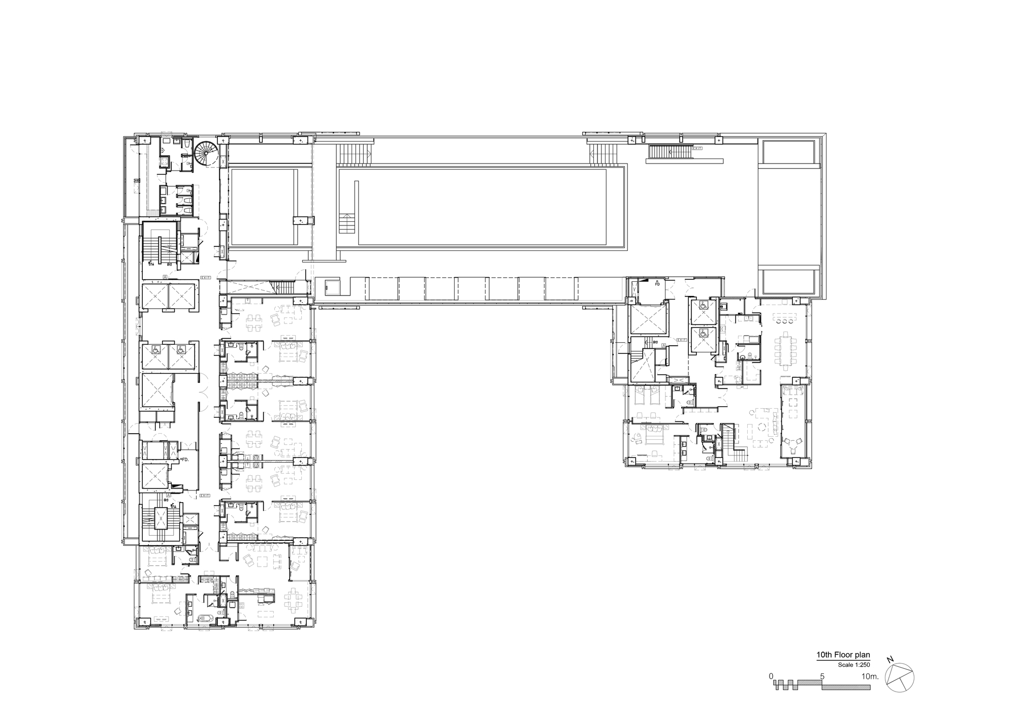 architect floor plans gallery of sindhorn residence plan architect 23 10148