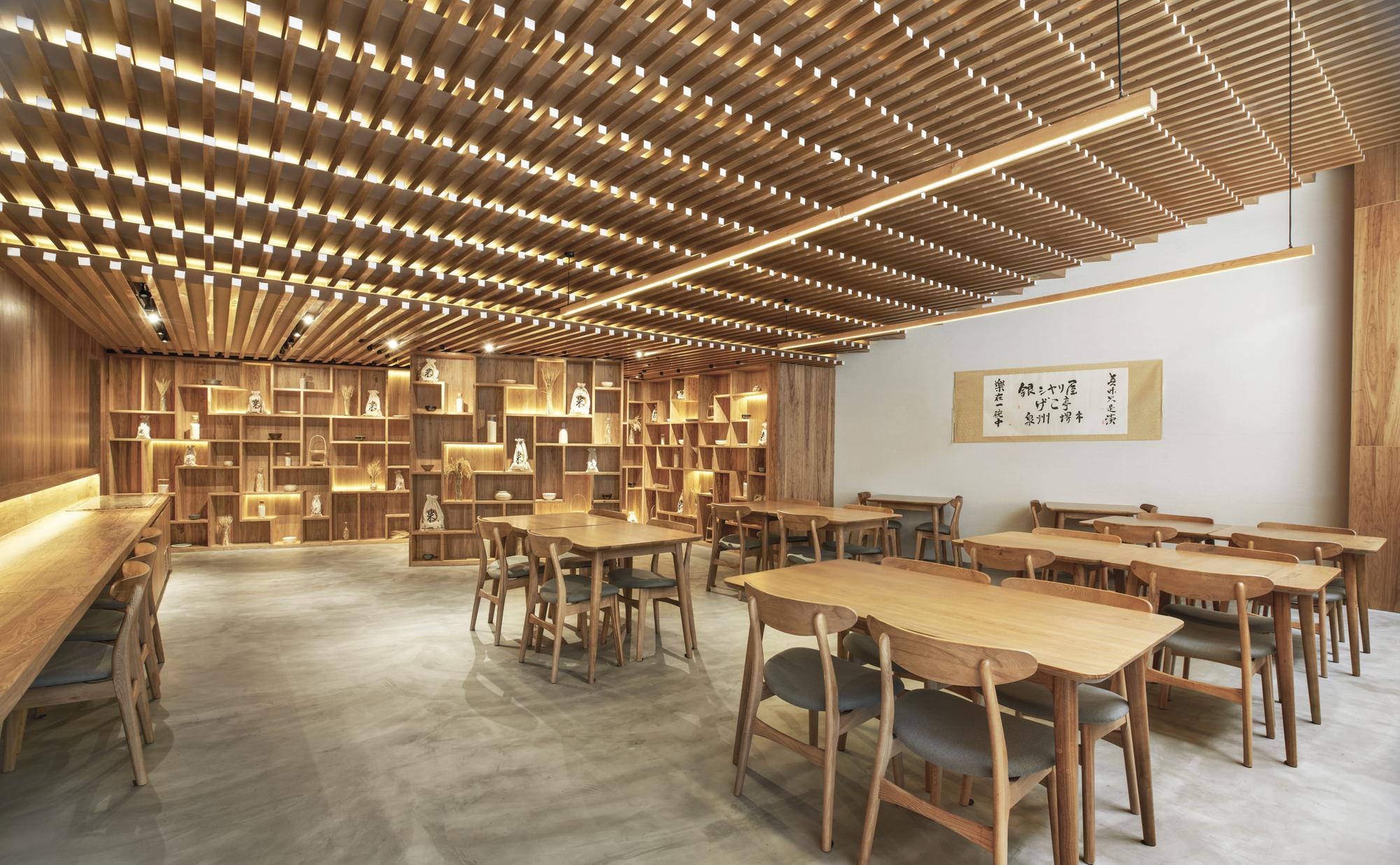 Ginshariya Restaurant Tsutsumi Amp Associates Archdaily