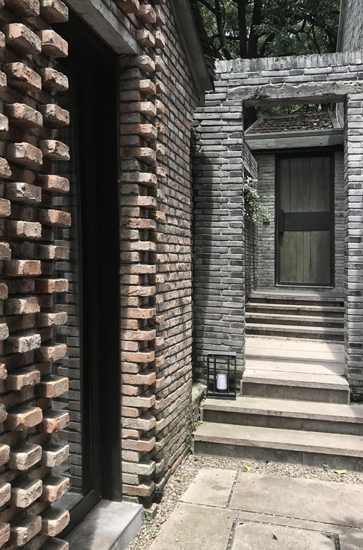 Brick pattern. Image © Aoguan Performance of Architecture