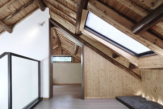 Attic. Image © Aoguan Performance of Architecture