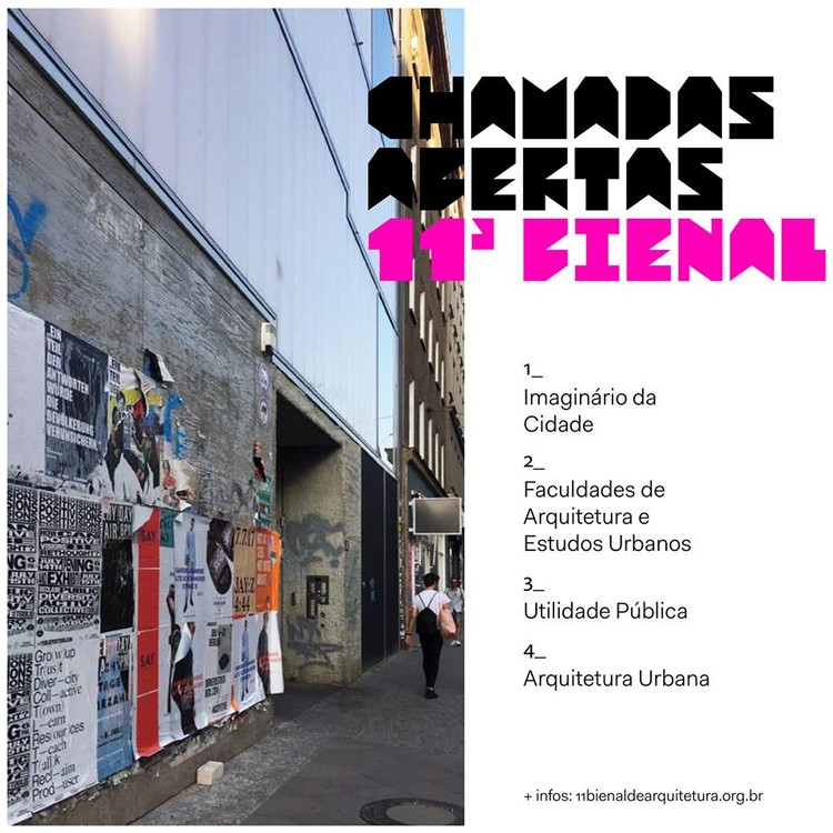 Faça parte do Observatório da 11ª Bienal de Arquitetura de São Paulo através das chamadas abertas, © 11ª Bienal de Arquitetura