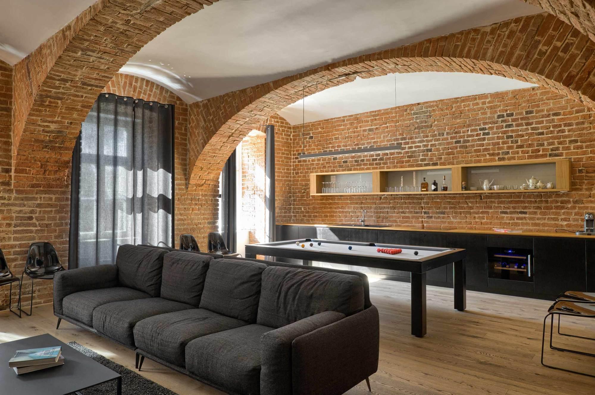 Brick Apartment Arhitektura Ab Objekt D O O Archdaily