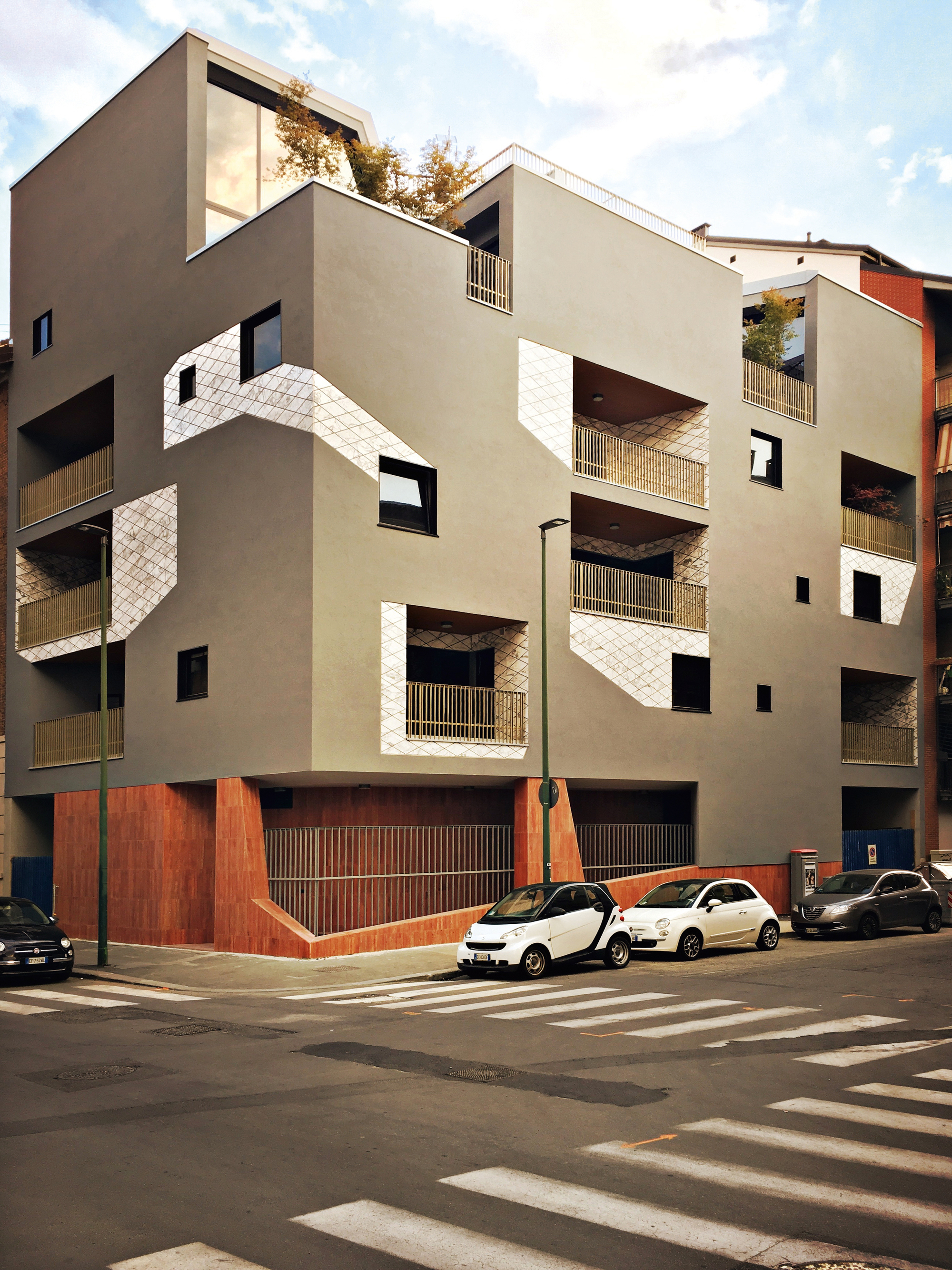 Urban Decor Residential Building / Marcante-Testa (UdA)