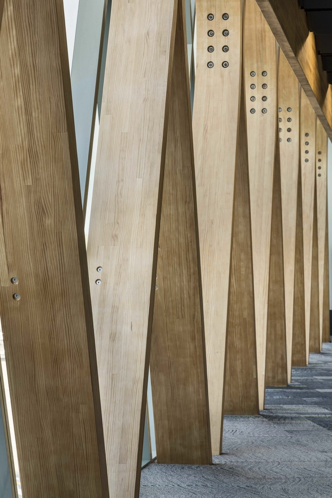 Laminated Wood gallery of this large structural frame is made from laminated wood - 5