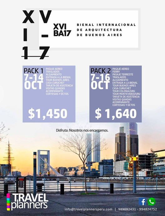 BienalBA17: 2 países 4 ciudades Argentina - Uruguay, Travel Planners Group