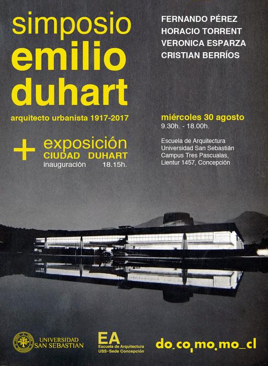 """Simposio """"Emilio Duhart Arquitecto Urbansita 1917-2017"""", EA_USS_CCP"""