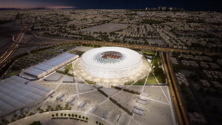 The Design of the Latest Qatar 2022 World Cup Stadium is Inspired by an Arabic Cap, Courtesy of Supreme Committee for Delivery & Legacy
