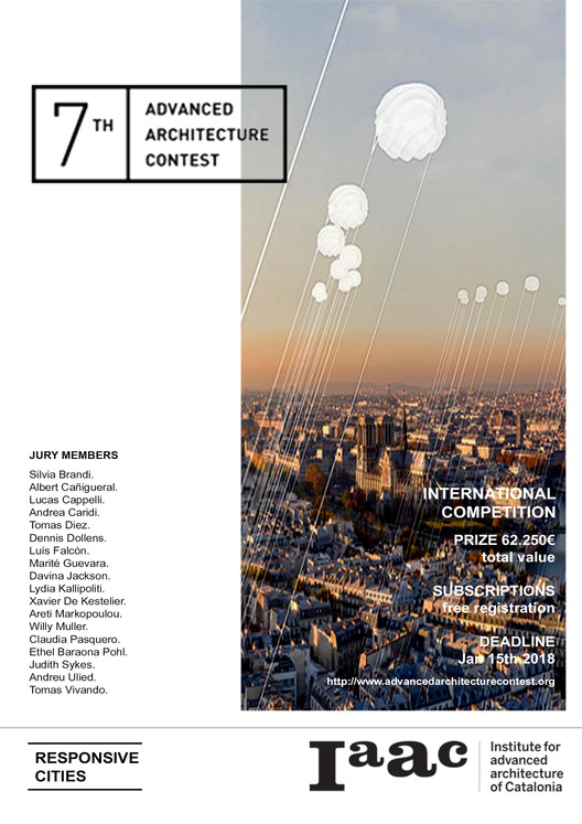 7th Advanced Architecture Contest, on the Theme of Responsive City