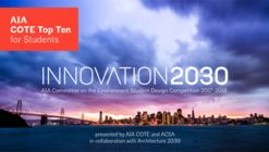 Student Design Competition: Innovation 2030