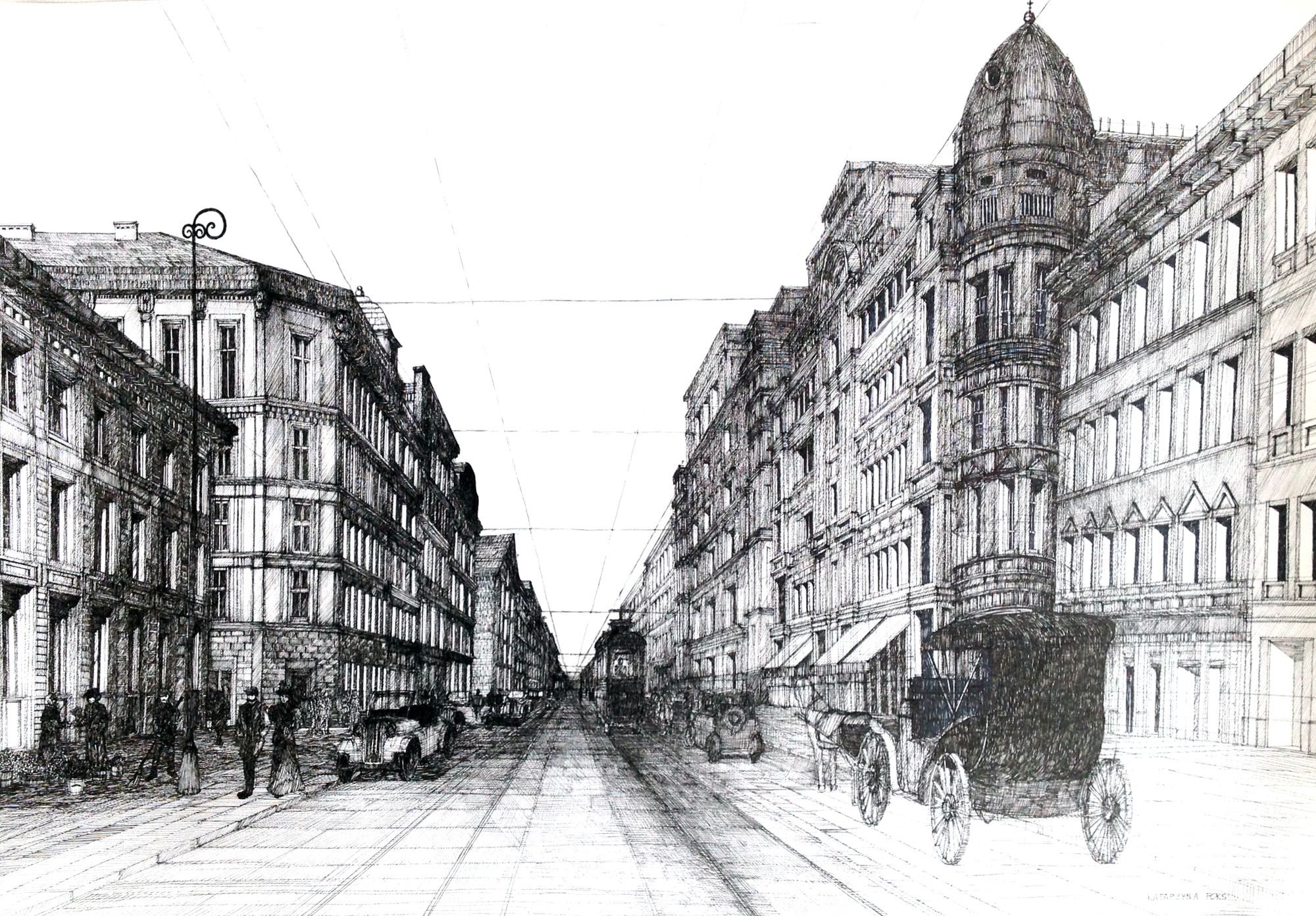 architecture drawing. Katarzyna Marszalkowska Architecture Drawing R