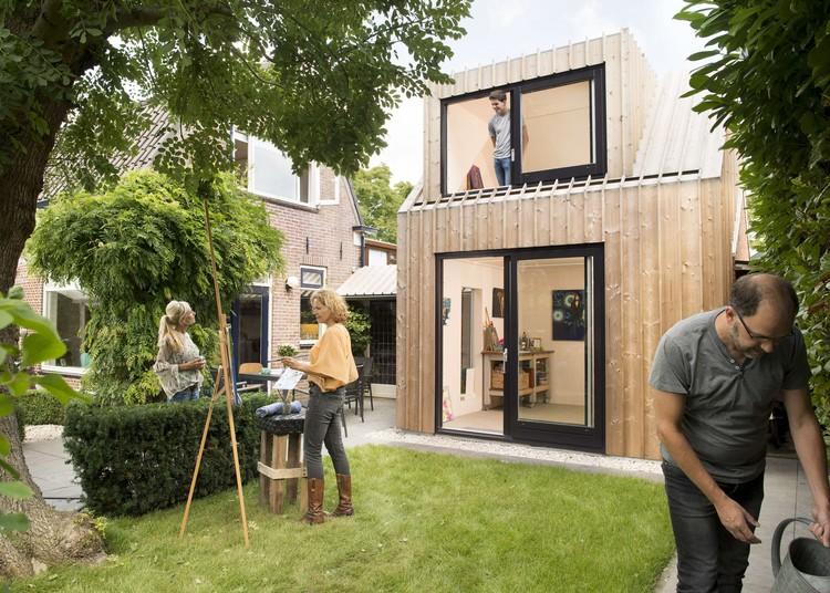 Estudio de pintura en el patio trasero / Open Kaart, © Rufus de Vries