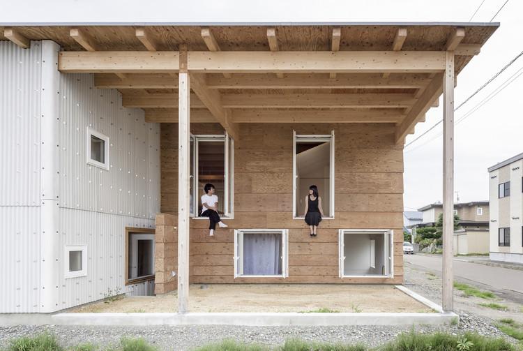 Roof and Rectangular House / Jun Igarashi Architects, © Ikuya Sasaki