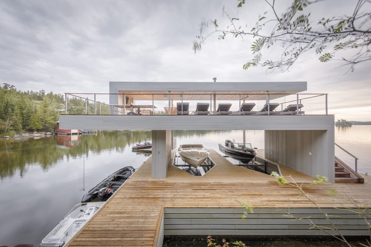 Boathouse / Cibinel Architecture, © Jerry Grajewski